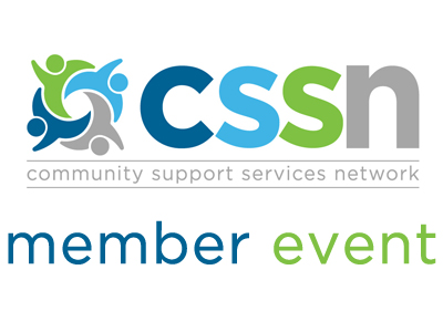 Community Support Services Network Member Event